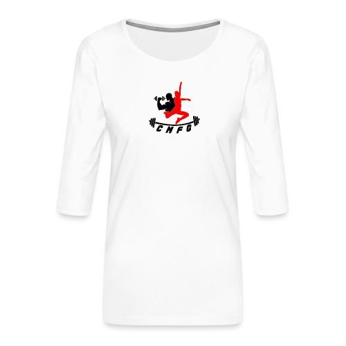 fini total - T-shirt Premium manches 3/4 Femme