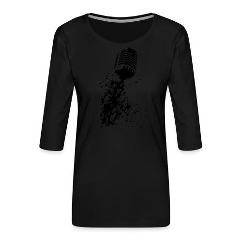 dirtymic - Vrouwen premium shirt 3/4-mouw