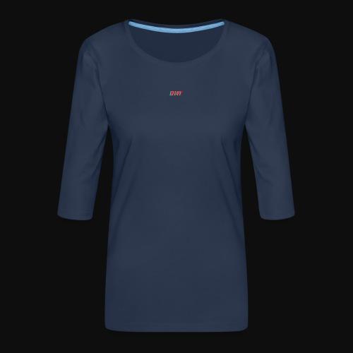 TEE - Women's Premium 3/4-Sleeve T-Shirt