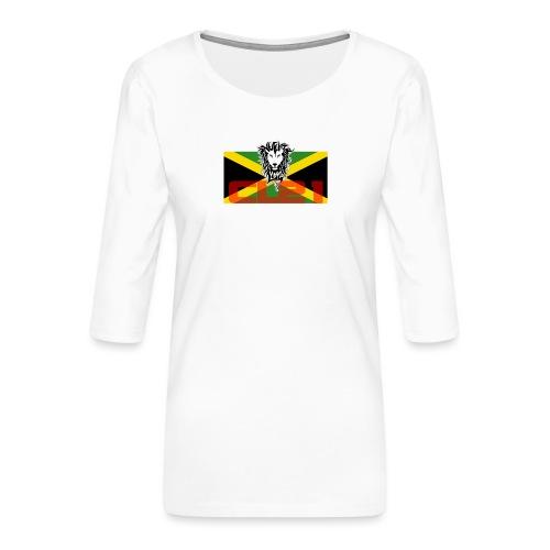 RASTA 13 - T-shirt Premium manches 3/4 Femme