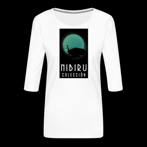 colección Nibiru - Camiseta premium de manga 3/4 para mujer