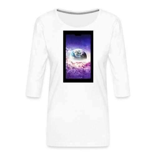 Univers - T-shirt Premium manches 3/4 Femme