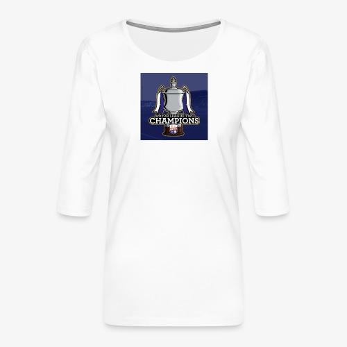 MFC Champions 2017/18 - Women's Premium 3/4-Sleeve T-Shirt