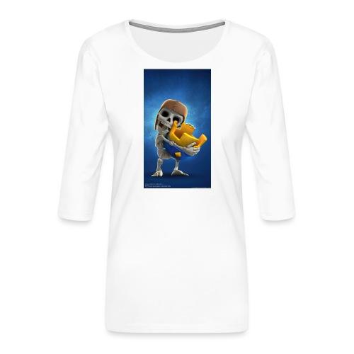 TheClashGamer t-shirt - Frauen Premium 3/4-Arm Shirt