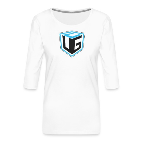Ultimate Gaming Community Cube - Frauen Premium 3/4-Arm Shirt