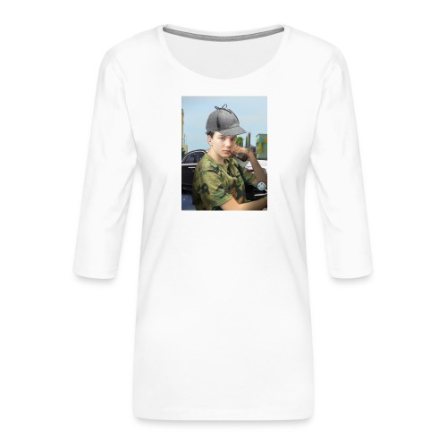 Detektiv Laurin - Frauen Premium 3/4-Arm Shirt