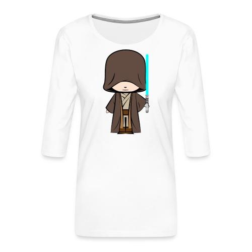 Jedi_Generique - T-shirt Premium manches 3/4 Femme