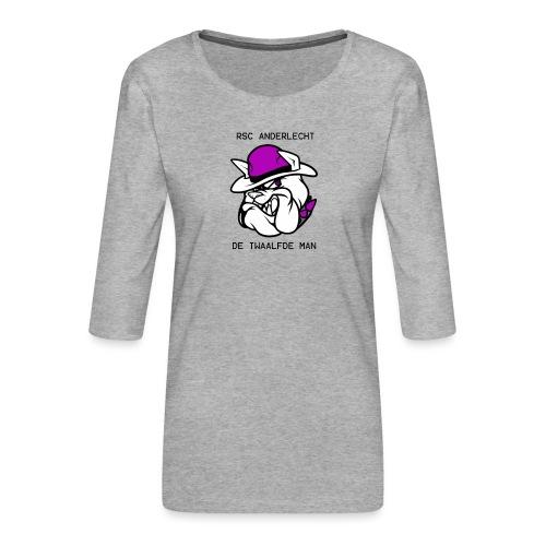 T-shirt D12M - Vrouwen premium shirt 3/4-mouw