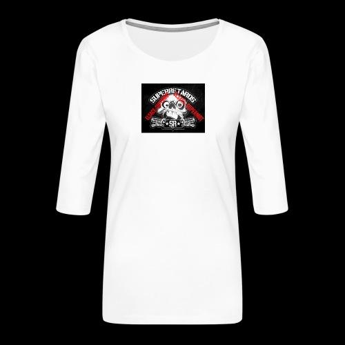 elsace-supermot - T-shirt Premium manches 3/4 Femme