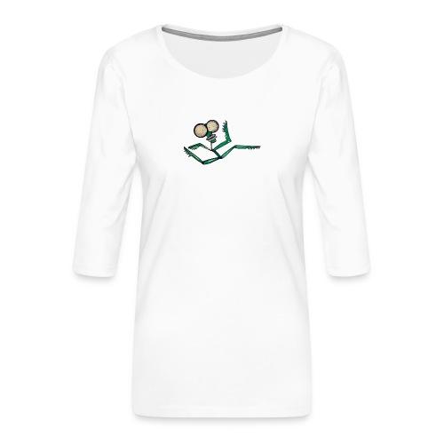runner - Women's Premium 3/4-Sleeve T-Shirt