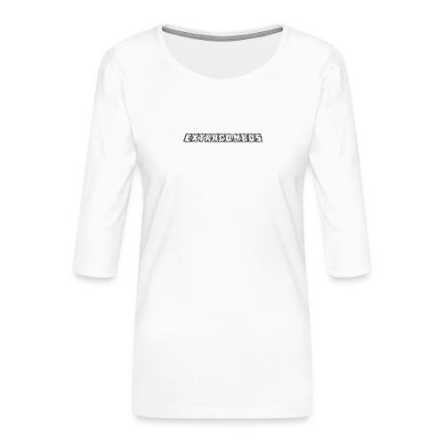 museplade - Dame Premium shirt med 3/4-ærmer
