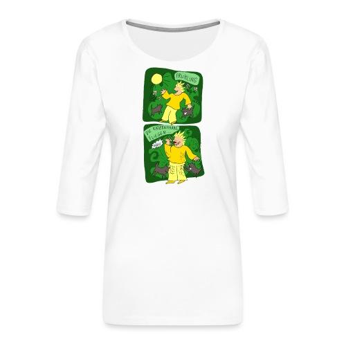 Katzenhaare - Frauen Premium 3/4-Arm Shirt