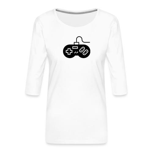 manette - T-shirt Premium manches 3/4 Femme