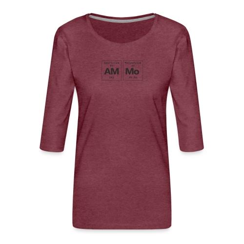 Ammo - Dame Premium shirt med 3/4-ærmer