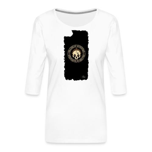 iphonekuorettume - Naisten premium 3/4-hihainen paita