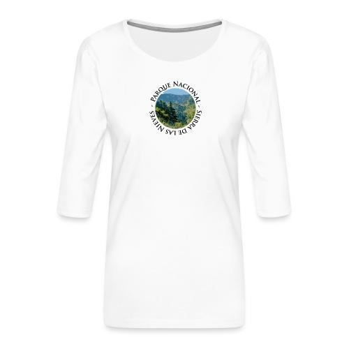 Parque Nacional Sierra de las Nieves - Camiseta premium de manga 3/4 para mujer