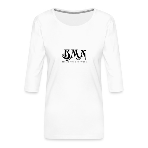 BLACK BMN E1 - Frauen Premium 3/4-Arm Shirt
