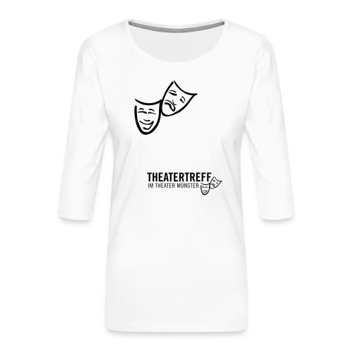 logo_tt - Frauen Premium 3/4-Arm Shirt