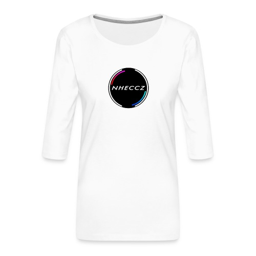 NHECCZ Logo Collection - Women's Premium 3/4-Sleeve T-Shirt