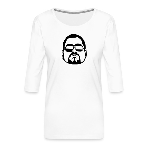 cool guy - Vrouwen premium shirt 3/4-mouw