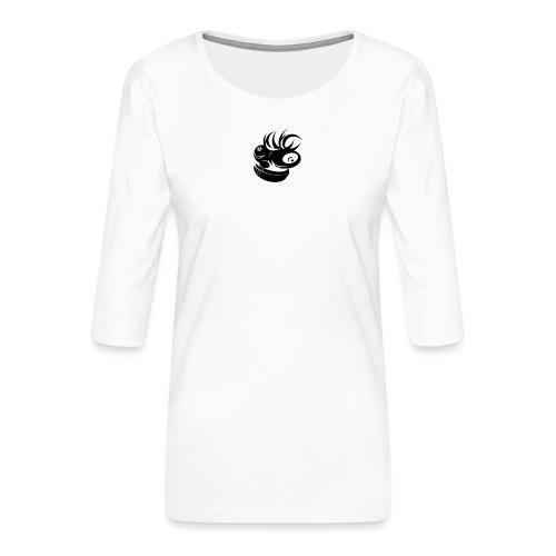 gekke aap - Vrouwen premium shirt 3/4-mouw