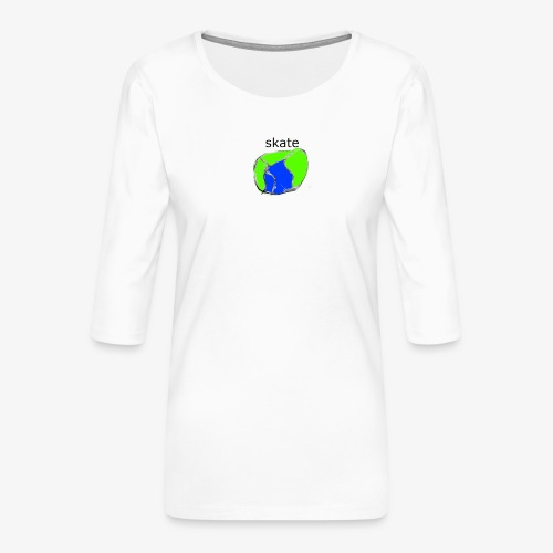 aiga cashier - Dame Premium shirt med 3/4-ærmer