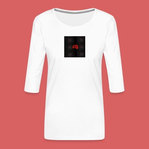 ctg - Women's Premium 3/4-Sleeve T-Shirt