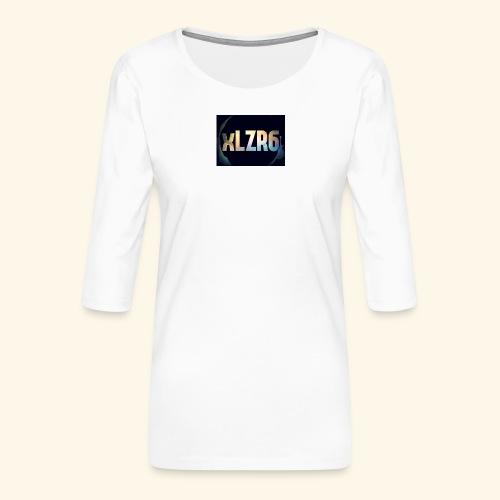 received 2208444939380638 - T-shirt Premium manches 3/4 Femme