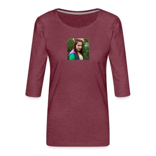 Ulku Seyma - Women's Premium 3/4-Sleeve T-Shirt