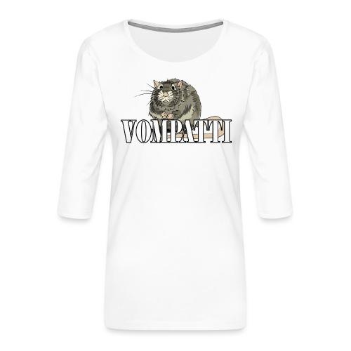 Vompatti - Naisten premium 3/4-hihainen paita