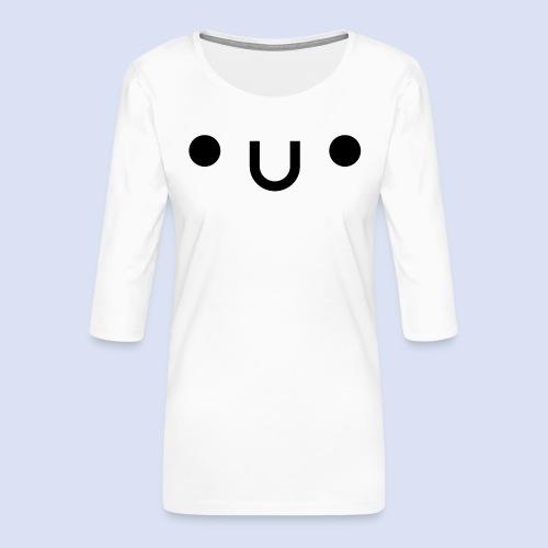 •u• - T-shirt Premium manches 3/4 Femme