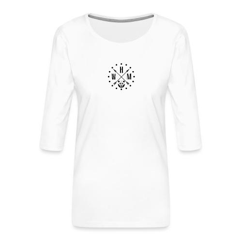 Waltherman logo flèches - T-shirt Premium manches 3/4 Femme