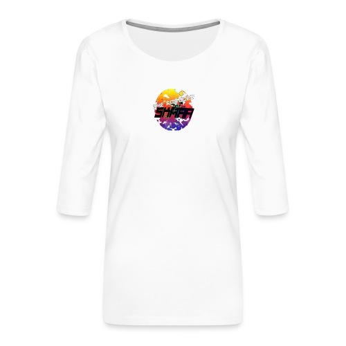 The ting goes SKRAA - Vrouwen premium shirt 3/4-mouw