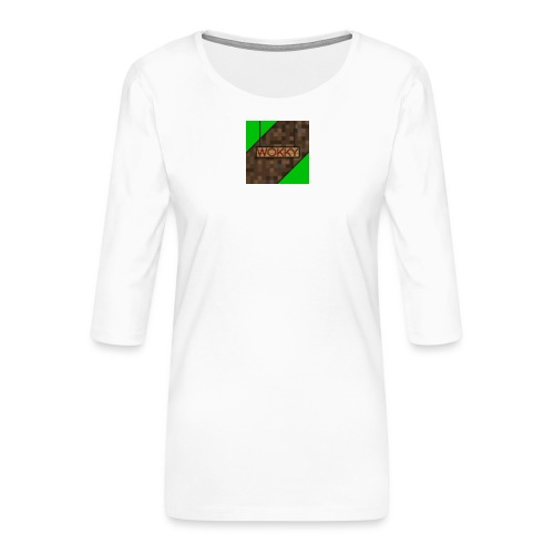 Wokky T Shirt - Premium-T-shirt med 3/4-ärm dam