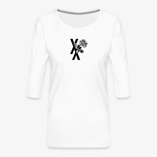 EST19XX ROSE - Vrouwen premium shirt 3/4-mouw