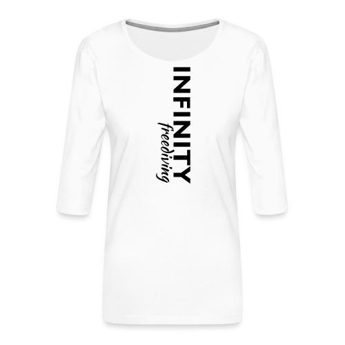 Infinity - Frauen Premium 3/4-Arm Shirt