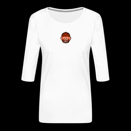 pogo clan t-shirt - Dame Premium shirt med 3/4-ærmer