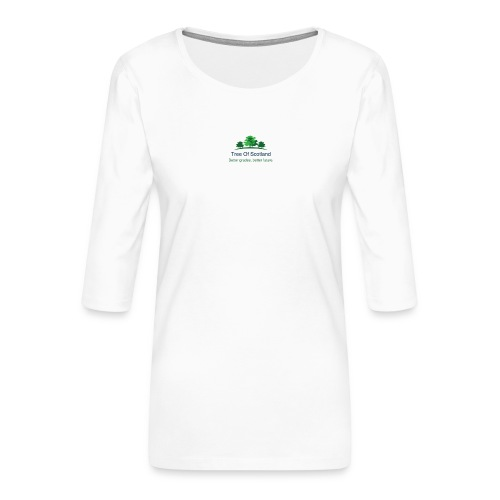 TOS logo shirt - Women's Premium 3/4-Sleeve T-Shirt