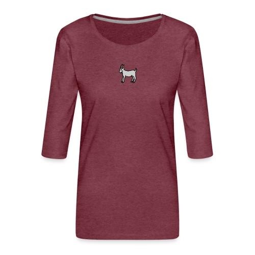 Ged T-shirt herre - Dame Premium shirt med 3/4-ærmer