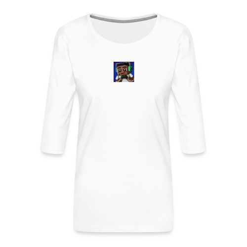 This is the official ItsLarssonOMG merchandise. - Women's Premium 3/4-Sleeve T-Shirt