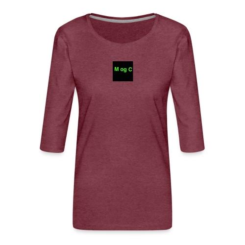 mogc - Dame Premium shirt med 3/4-ærmer
