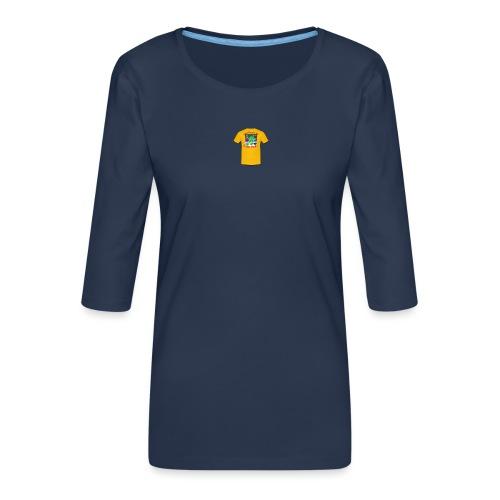 Castle design - Dame Premium shirt med 3/4-ærmer
