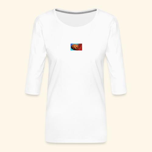 NathanielsLogo2 - Frauen Premium 3/4-Arm Shirt