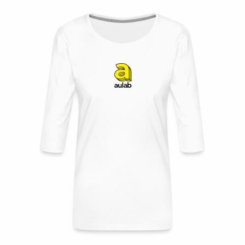 Marchio aulab - Maglietta da donna premium con manica a 3/4