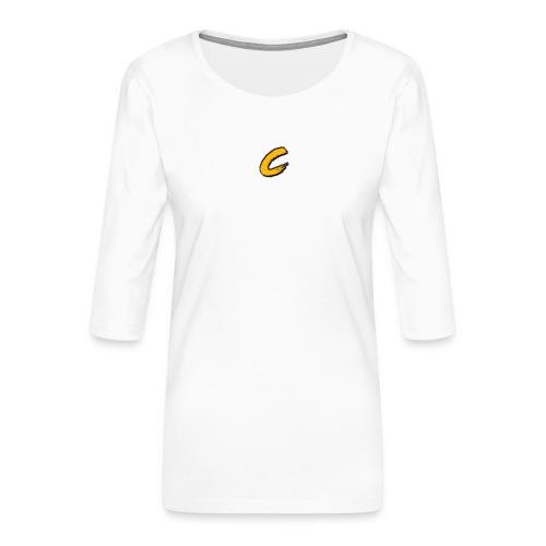 Chuck - T-shirt Premium manches 3/4 Femme
