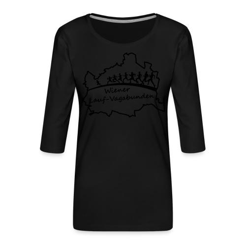 Laufvagabunden T Shirt - Frauen Premium 3/4-Arm Shirt