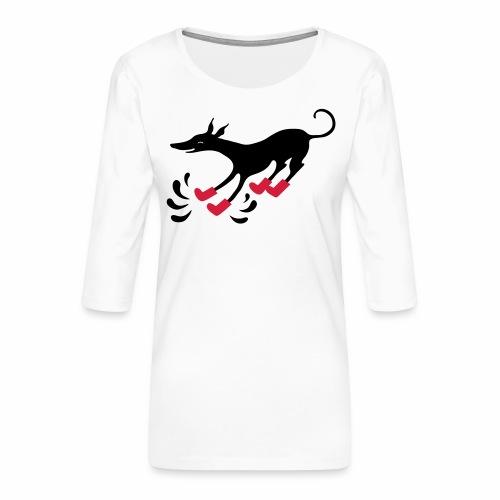 Latakko Loiskis - Naisten premium 3/4-hihainen paita