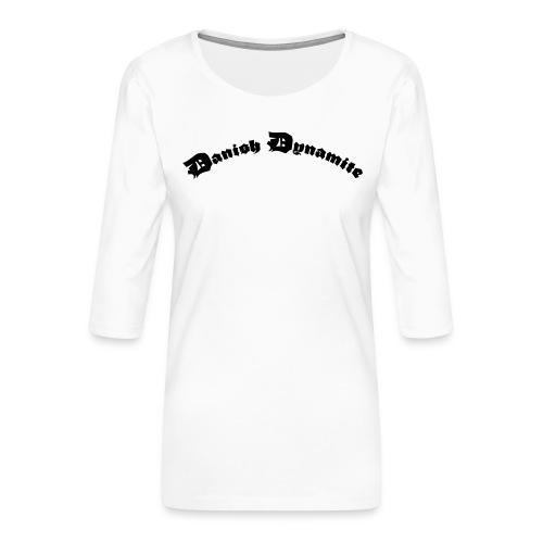 Danish Dynamite - Dame Premium shirt med 3/4-ærmer