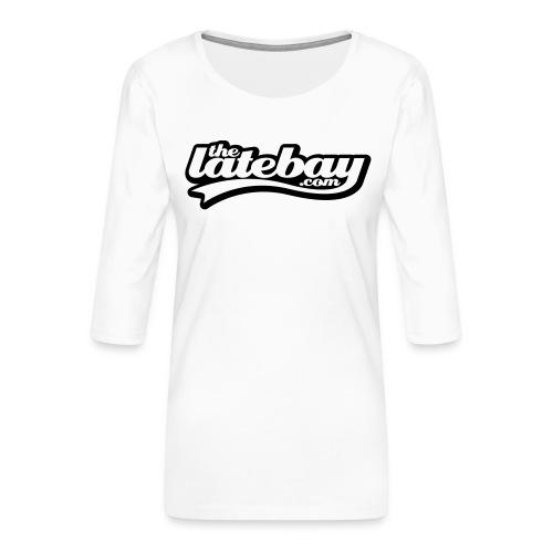 tlb tshirt01 type small 135mm width - Women's Premium 3/4-Sleeve T-Shirt