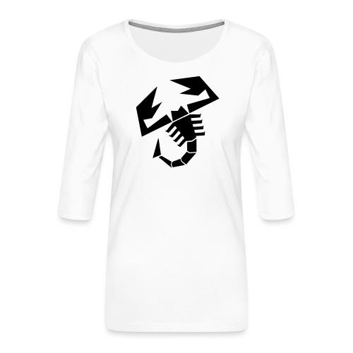 Scorpion - Premium T-skjorte med 3/4 erme for kvinner